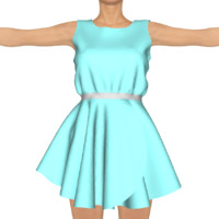 3d daz clothing genesis 3 model