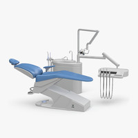 3d max dental chair