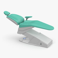 3d model stomatology medical chair