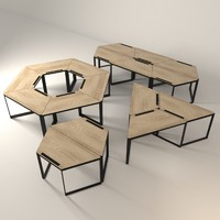 3d designed table