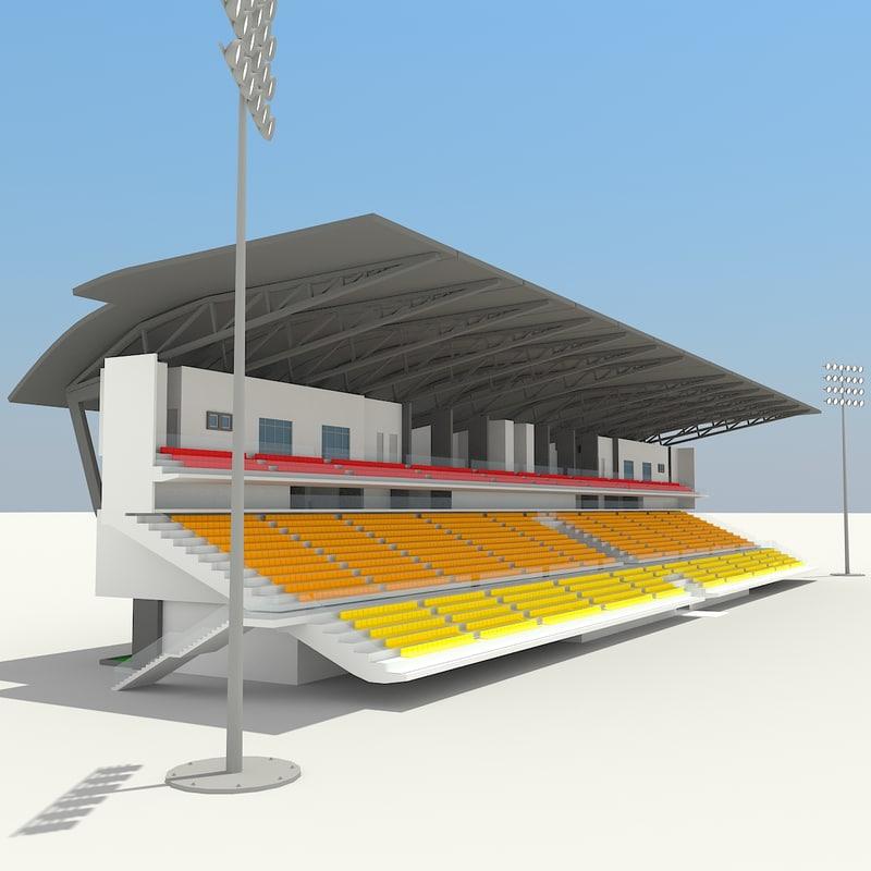 3d stadium soccer arenas