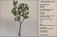 3d fantasy tree 06 model