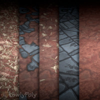 Texture Set Vol.13 Hand Painted Ground Dirt