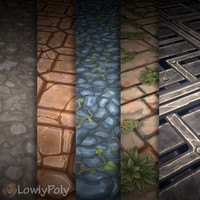 Texture Set Vol.08 Hand Painted Ground