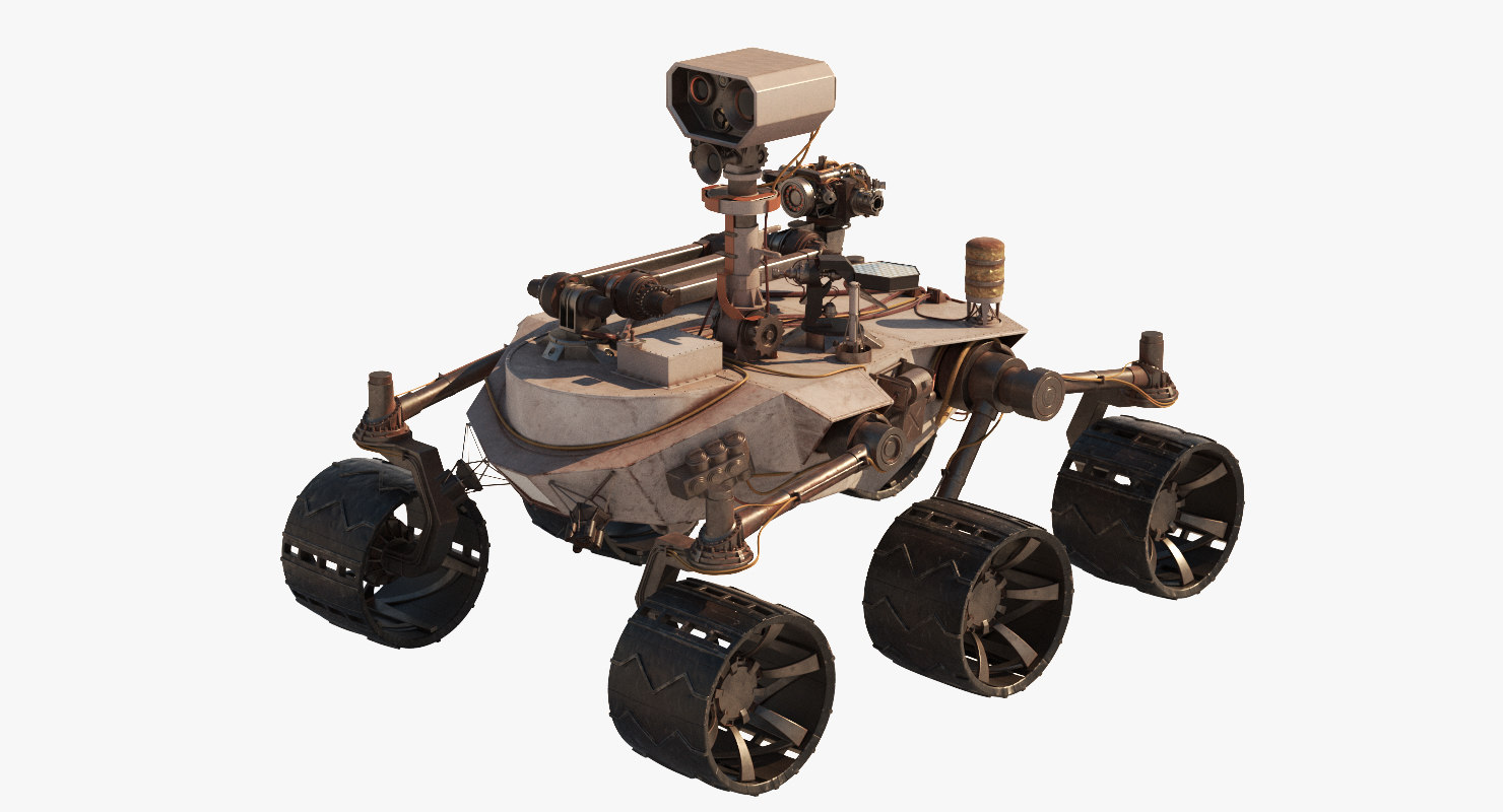 3d model general planetary rover