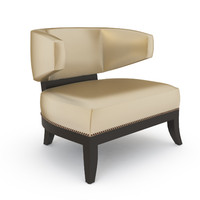 3d model mulholland chair 9875 powell