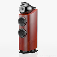 3d floorstanding bowers wilkins 802 model