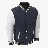 Blue Baseball Jacket