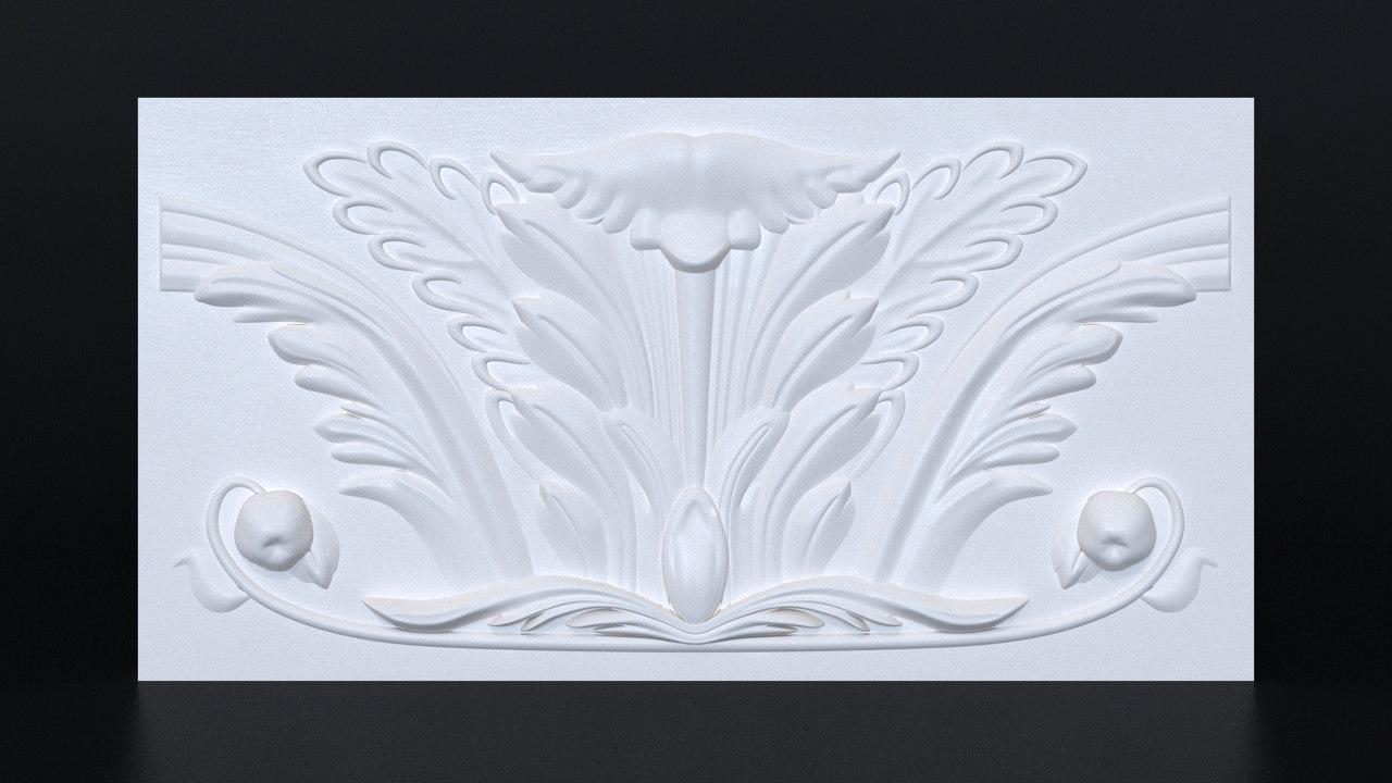moldings printing 3d max