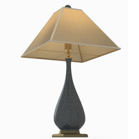 courtship table lamp currey 3d model