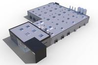 3d model building industrial