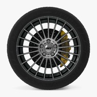 valencia dark disk car wheel 3d max