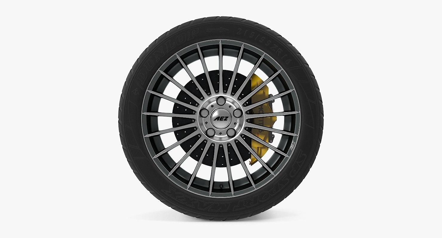 valencia dark disk car wheel 3d max