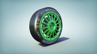 3d rally tire