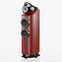 3d model floorstanding bowers wilkins 803