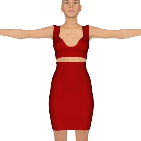 free daz clothing genesis 3 3d model