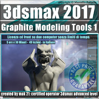 018 3ds max 2017 Graphite Modeling Tools1 vol 18 cd front