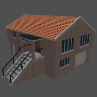 ready house games 3d model