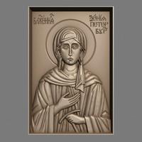 orthodox christian icon st 3d obj