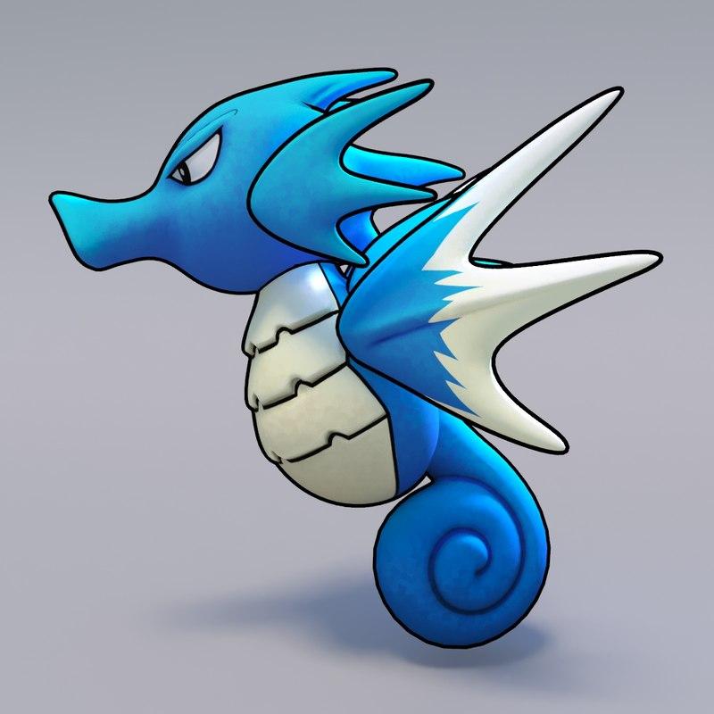 3d seadra pokemon