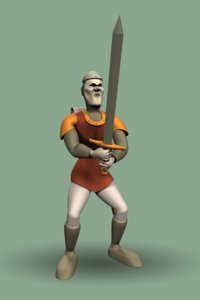 3d dirk daring dragon s model