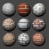 Brick Wall Pack 1