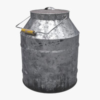 metal container 3d model