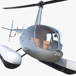 helicopter robinson r44 floats max