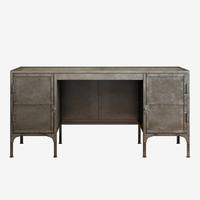 Restoration hardware industrial tool chest desk