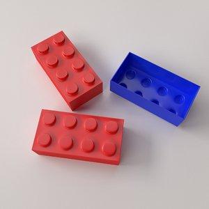3d brick toy