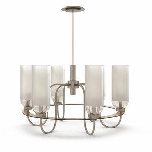 garrison hang lamp urban 3d model