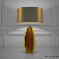 3d model bella figura diamond curved