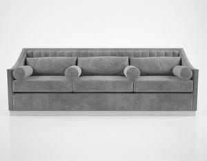 3d model ben wisher charlotte sofa
