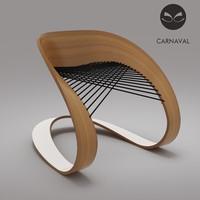 modern chair carnaval max
