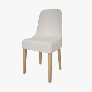 simply leather chair 3d 3ds