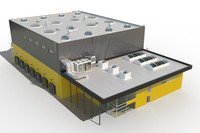 building industrial 3d max