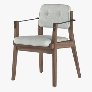 chair capo 3d model