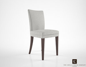 sofa chair company paris 3d model