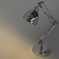 articular lamp 3d max