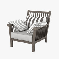 max gervasoni gray chair