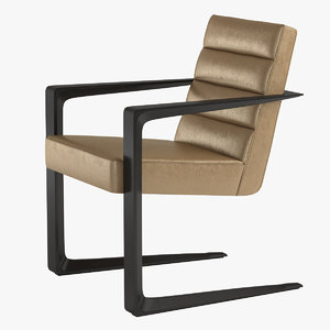 chair delta occasional 3d model