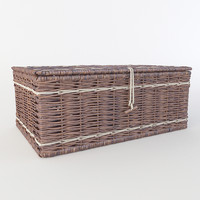 3d wicker basket