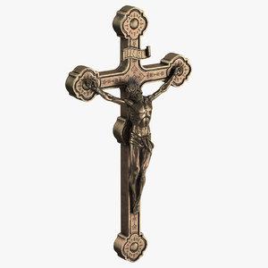 crucifix obj