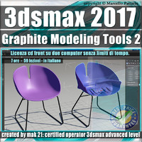 019 3ds max 2017 Graphite Modeling Tools 2 vol 19 cd front