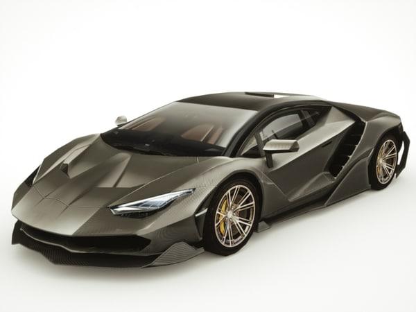 c4d generic supercars car