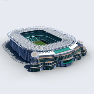 3d twickenham stadium