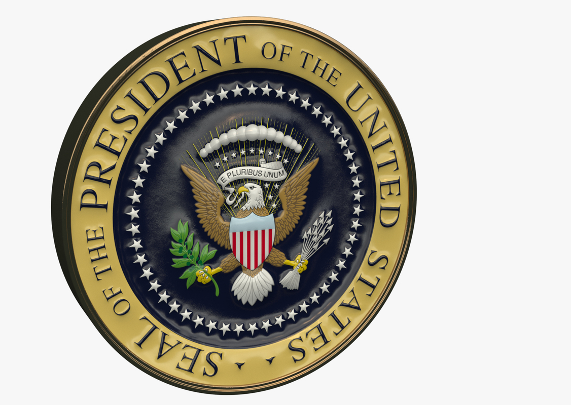 presidential seal 3d model