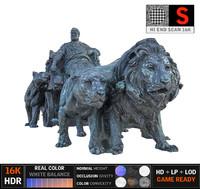 3d model neron statue 16k