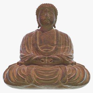 buddha statue 3d max