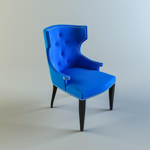- lillianaugust quinn arm chair 3d max